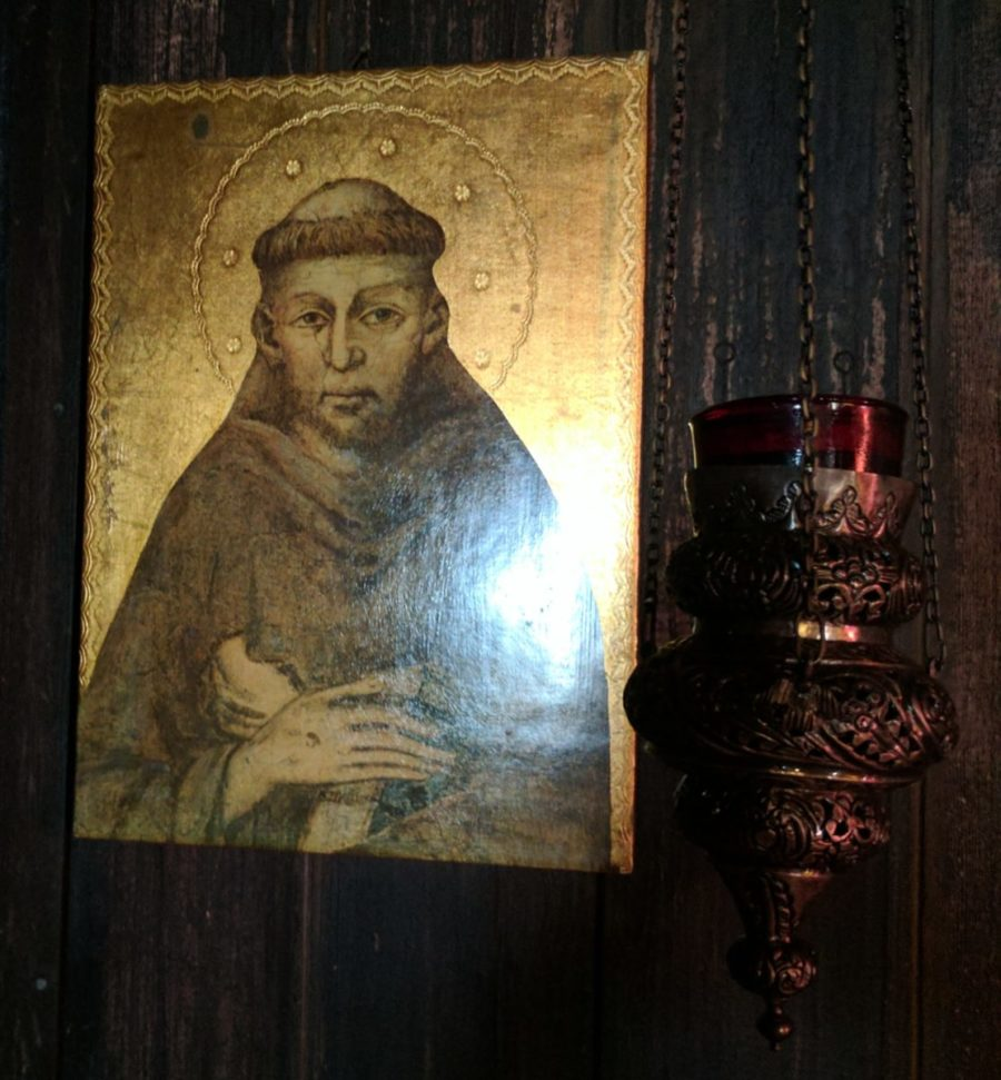 Icon of St Francis