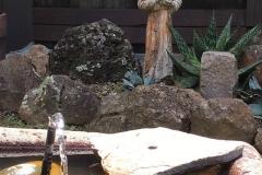 Francis near Fountain